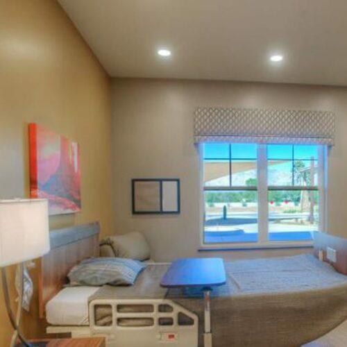 BV Tucson InPatient Guest Room