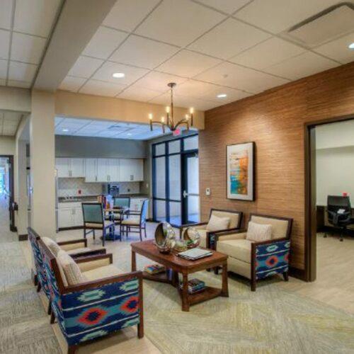 Tucson, Arizona Facility Seating Area
